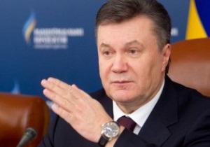 Янукович поздравил Металлист с выходом в четвертьфинал