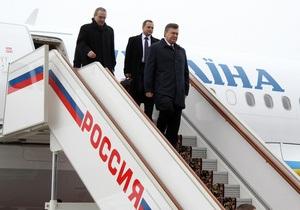 Наступного тижня Янукович відвідає Москву