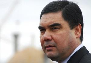 Президент Туркменістану відвідає київський цирк