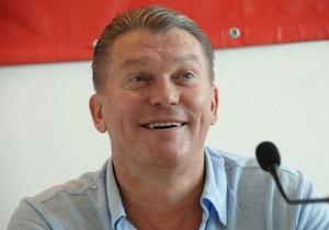 Олег Блохін: Євро-2012 надасть колосальний поштовх розвитку країни