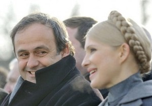 Справа Тимошенко: європейські політики написали відкритого листа президентові УЄФА