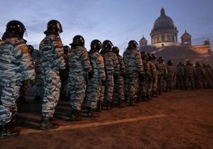 Мітинги опозиції в Росії: У центрі Москви посилені заходи безпеки