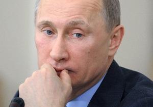 Путін обмовився, що його з перемогою на виборах привітав президент Грузії