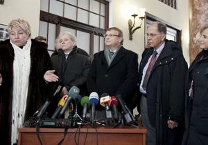Німецькі лікарі не рекомендують Тимошенко проводити операцію