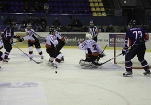 Определился первый финалист чемпионата Украины по хоккею