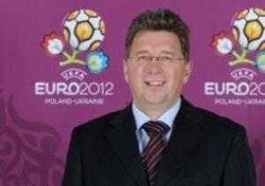 Директор UEFA похвалив Україну і Польщу за підготовку до Євро-2012