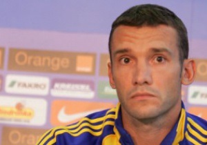 Шевченко: На Евро-2012 Украина будет на высоте
