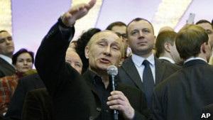 Україна в числі перших привітала Путіна з новим президентством