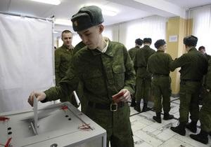 Явка на виборах президента РФ наближається до 50%