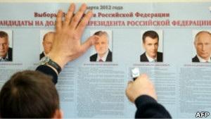 Росія обирає президента