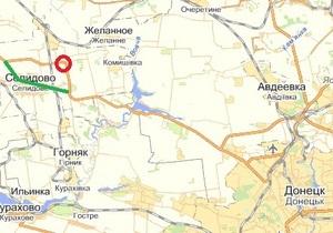 Трасу між Донецьком та Дніпропетровськом перекривали через перекидання фури, яка везла 20 тонн аргону