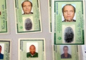 Бразильський шахрай використовував посвідчення з фотографією Ніколсона