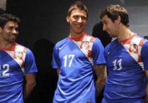 Сборная Хорватии представила новую выездную форму