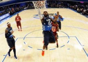 Сборная Запада одолела Восток в Матче всех звезд NBA