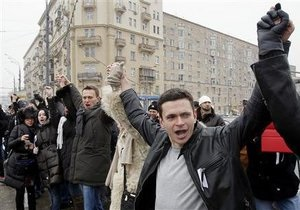 Єдина Росія: Акція Великий білий круг стала передбачуваним провалом