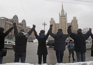 В акції опозиції на Садовому кільці бере участь 11 000 осіб - МВС РФ