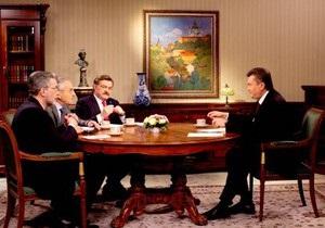 Янукович: Україна ніколи не погодиться з наявною ціною на газ