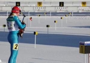 Украинские биатлонистки завоевали бронзу в эстафете на юниорском Чемпионате мира