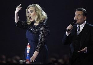 Організатори церемонії Brit Awards попросили вибачення в Адель