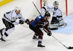 NHL: Дубль Штястны принес Колорадо победу над Лос-Анджелесом