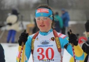 Украинки завоевали золото в эстафете на юниорском Чемпионате мира по биатлону