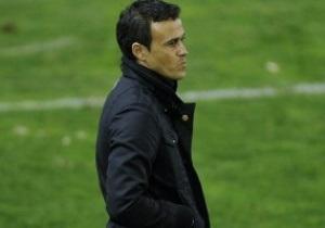 Луис Энрике не хочет отставки Гвардиолы