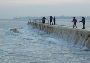 Я-Корреспондент: Замерзле море в Одесі