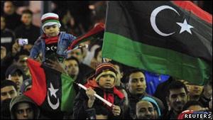 Лівійці відзначають річницю повстання, що призвело до повалення Каддафі