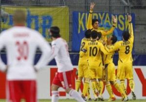 Лига Европы: Металлист расправляется с Зальцбургом