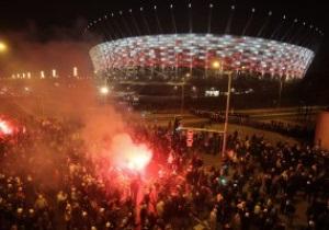 Навстречу Евро-2012: Польские фанаты провели мощную акцию протеста