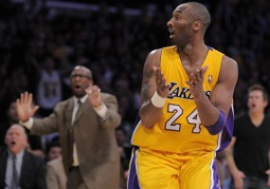 NBA: Бросок Коби Брайанта принес победу Лейкерс