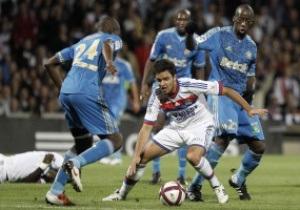 Лига 1: Марсель и Лион не определили победителя