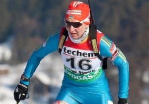 Украинки выиграли эстафету на чемпионате Европы по биатлону