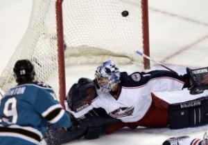 San Jose Sharks забросили шесть безответных шайб Columbus Blue Jackets