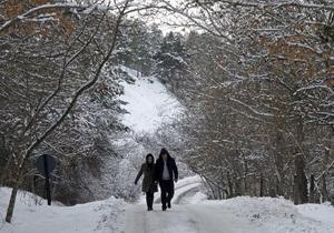Східна Європа потерпає від сильних морозів і снігопадів