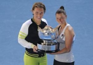 Australian Open-2012: Российская пара выиграла турнир в парном разряде