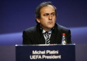 Платини попросил Польшу отменить визы для российских болельщиков Евро-2012