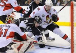 NHL: Los Angeles Kings уверенно обыграли Ottawa Senators