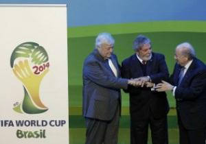 Бразилия не укладывается в сроки подготовки к ЧМ-2014 - FIFA