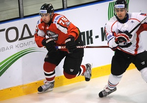 В Киеве прерванный почти на час хоккейный матч завершился победой Донбасса над Беркутом