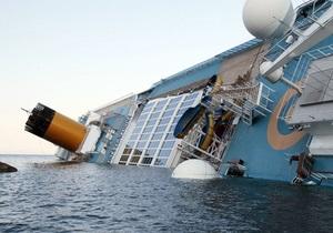Страховщики могут потерять от крушения Costa Concordia 405 млн евро - СМИ