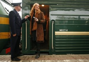 На рождественские праздники из Киева в Москву назначены два доппоезда