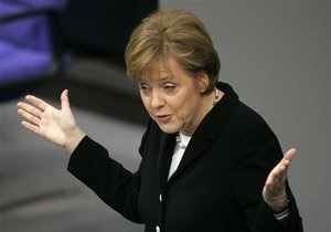 Меркель: Наступний рік стане для Німеччини складнішим, ніж 2011-й