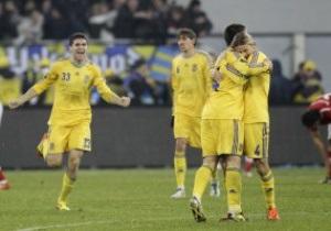 Рейтинг FIFA: Украина закончила год на 55-м месте