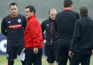 Игроки сборной Англии, которые поедут на Евро-2012, не смогут сыграть на Олимпиаде