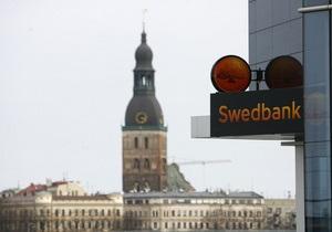Паника латвийских клиентов стоила Swedbank 250 млн евро