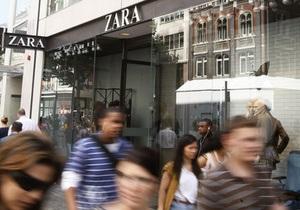 Продажи Zara выросли почти на 10%. Более серьезному росту помешал кризис и теплый ноябрь