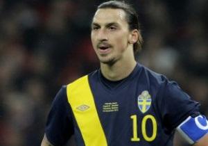 Ибрагимович: Жду матч Украина - Швеция на Евро-2012