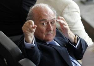 Блаттер не собирается покидать пост президента FIFA