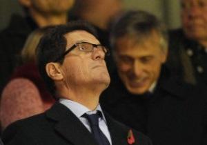 Капелло расстанется со сборной Англии после Евро-2012